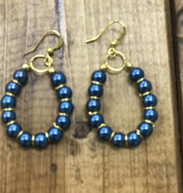 Earring of the Month: Beaded Hoop Earring/ Tuesday, September 19th -11-12:30pm