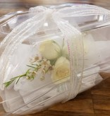 Corsage with free  Boutonnierre.