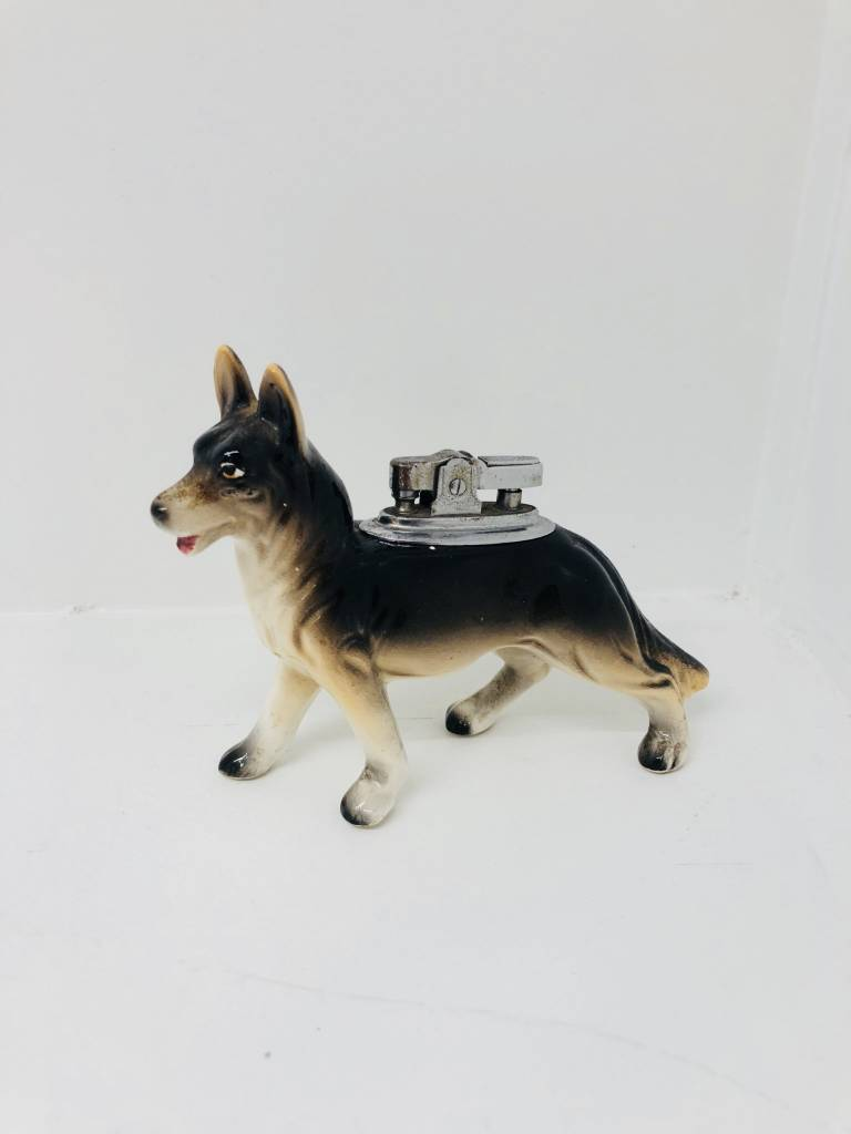 Vintage German Shepherd Lighter
