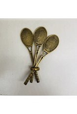 Vintage Brass Tennis Rackets