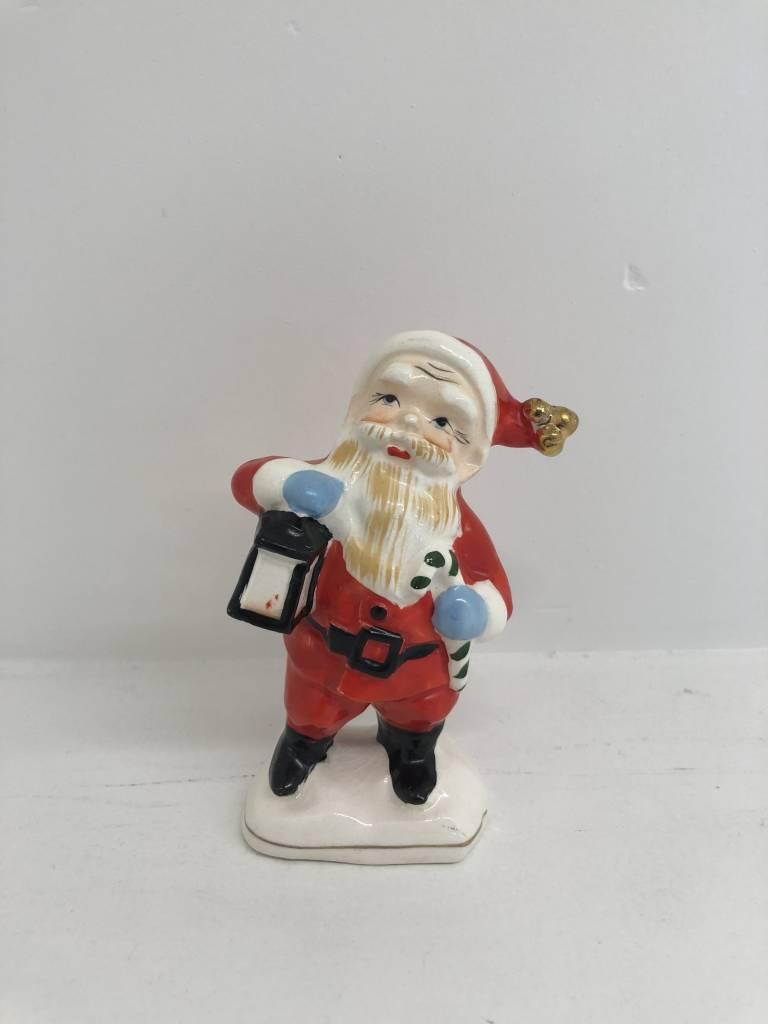 Vintage Ceramic Santa