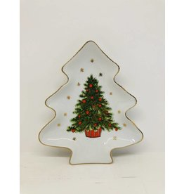 Vintage Tray- Christmas Tree