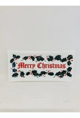 Vintage Tray - Merry Christmas