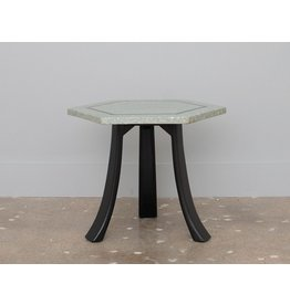 Harvey Probber Hexagonal Terrazzo Side Table