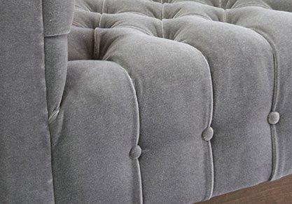 Milo Baughman Tufted Lounge Chairs