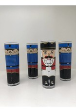 Vintage Set of 4 Stotter Nutcracker Cups
