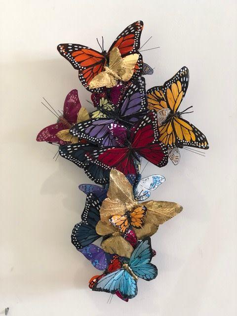 Small Cross - Butterfly