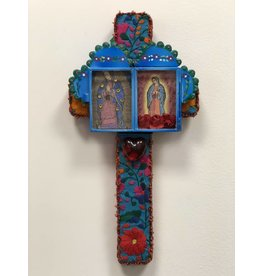 Small Cross - Virgen