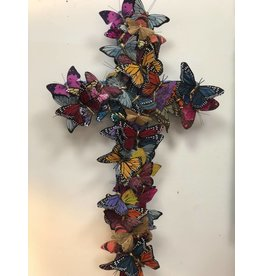 Medium Cross - Butterfly