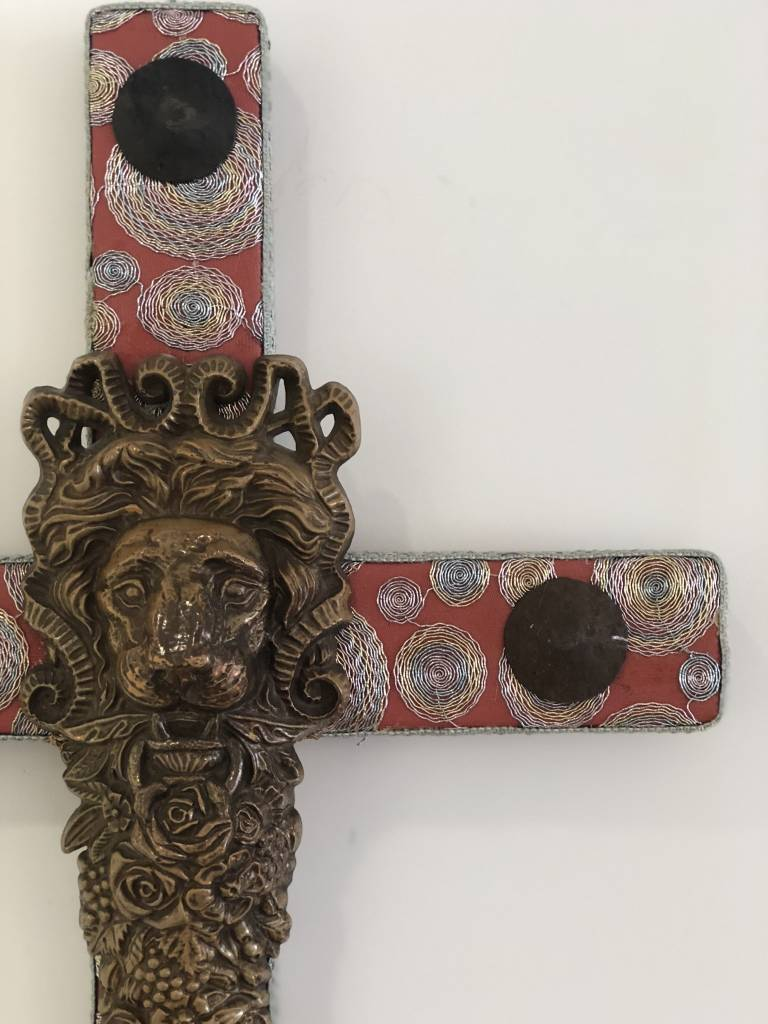 Large Cross - Lion