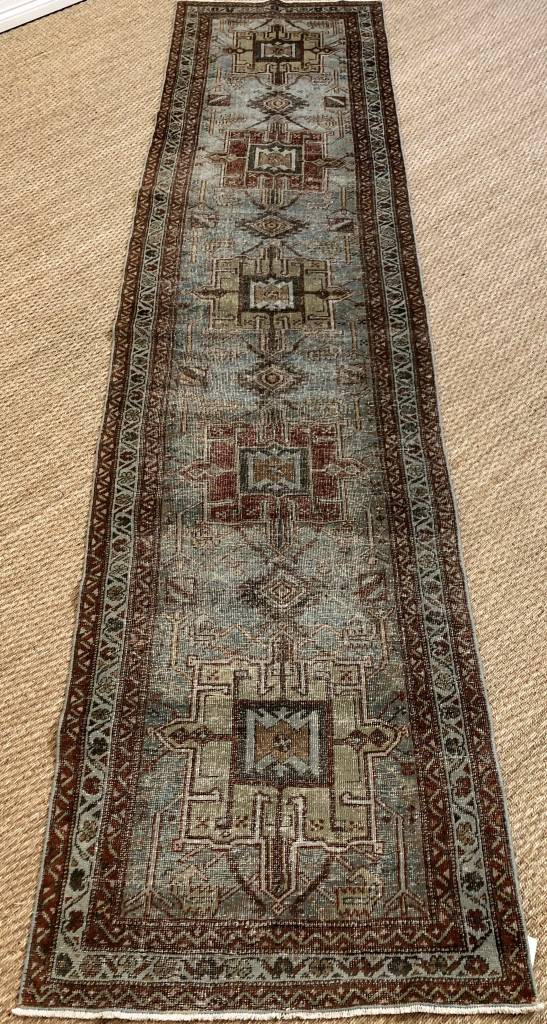 Antique Persian Heriz Circa 1920