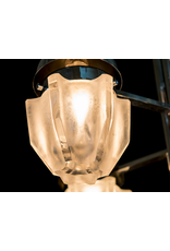 Pair of Chrome Sciolari Chandeliers with 9 Lights