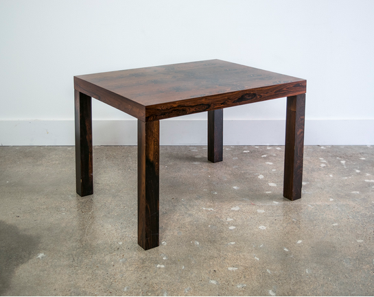 Rosewood Mobler Parsons Table