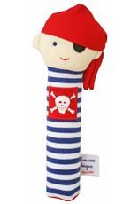 Alimrose Designs Pirate Squeaker Navy Stripe