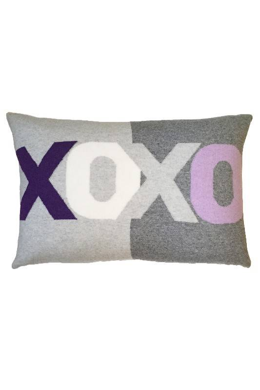 Rani Arabella XOXO Purple Pillow
