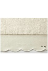 Peacock Alley Overture Wash Towel - Ivory 12x12