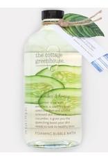 The Cottage Greenhouse Cucumber & Honey Bubble Bath