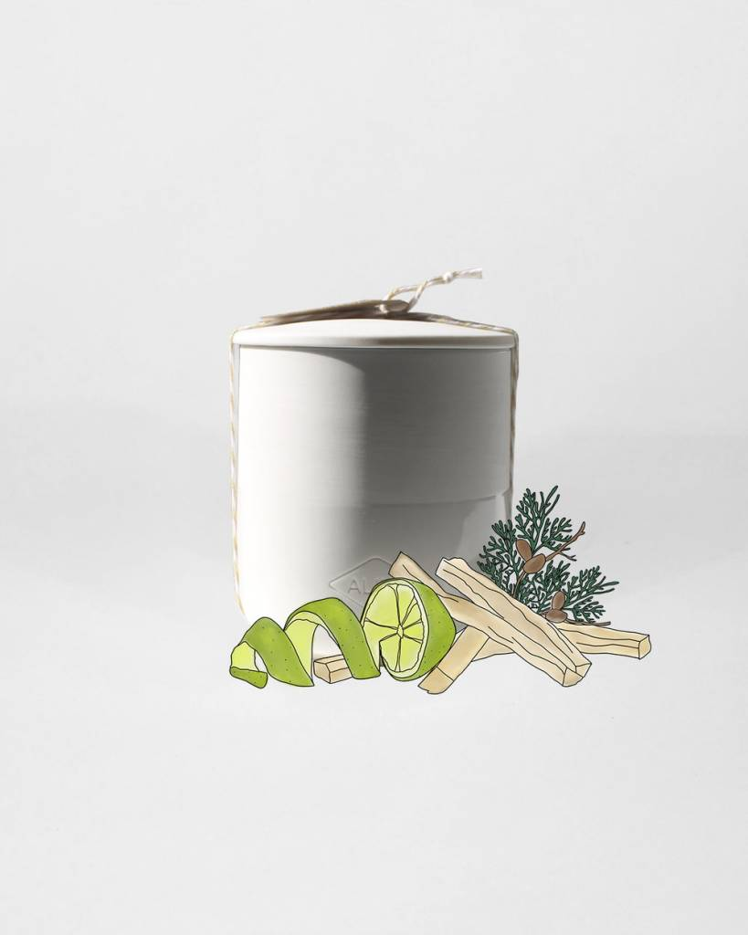 Alixx Ceramic Candle
