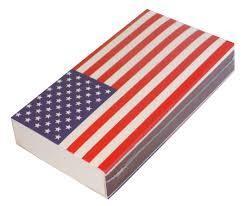 The Joy of Light American Flag Matchbox