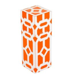 The Joy of Light Orange Lattice Matchbox