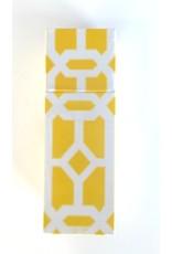 The Joy of Light Yellow Lattice Matchbox