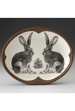 Laura Zindel Design Small Serving Dish: Sitting Hare