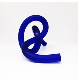 Somar Creations Blue Frosted Acrylic Sculpture