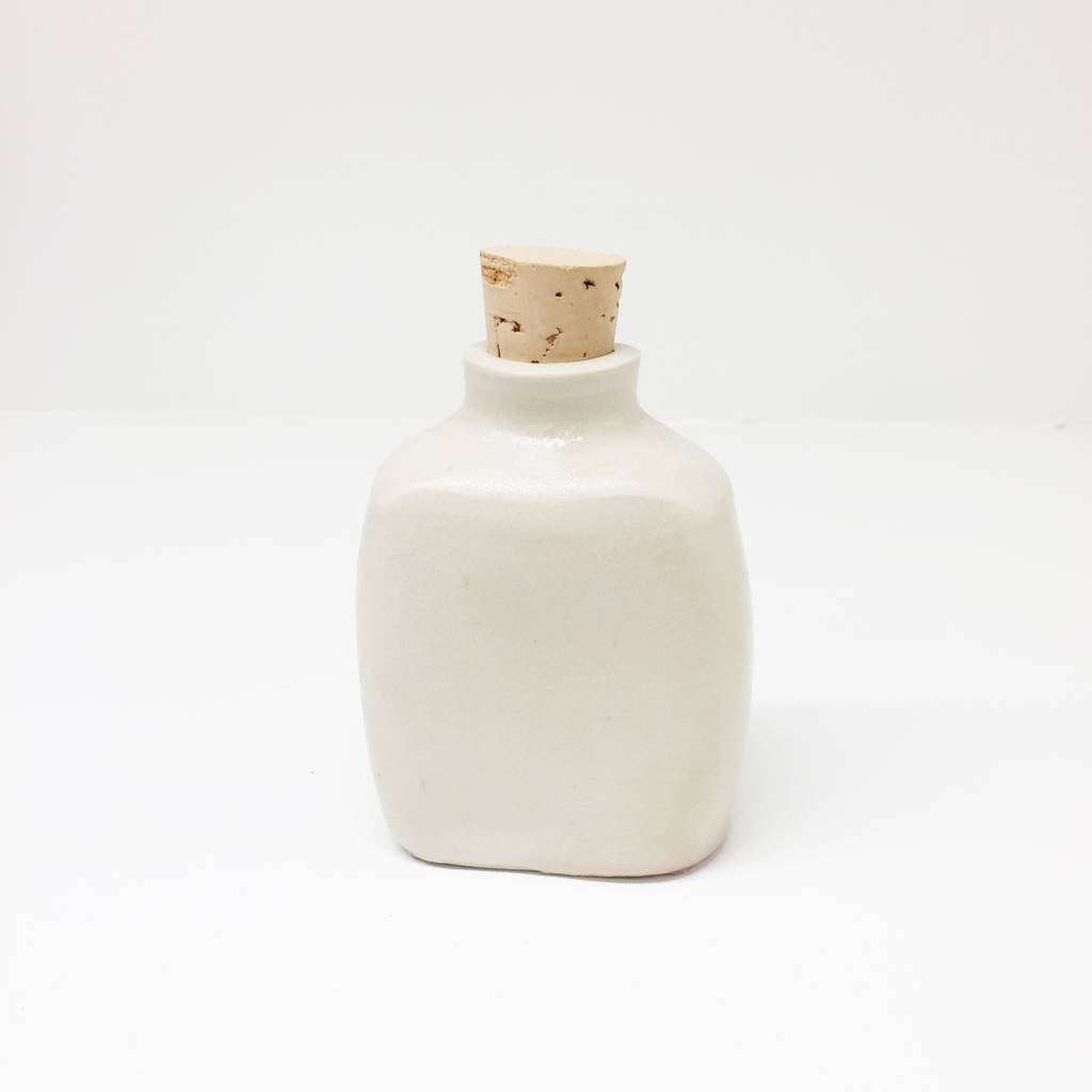Ellen Cline Ceramic Flask