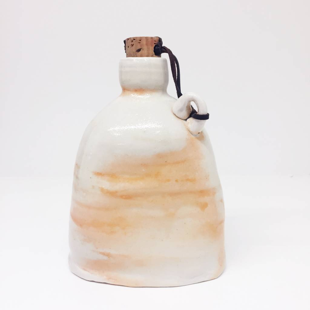 Ellen Cline Peach Flask