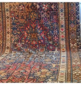 "1910s Antique Caucasian Shirvan  - 5'10"" x 15'"