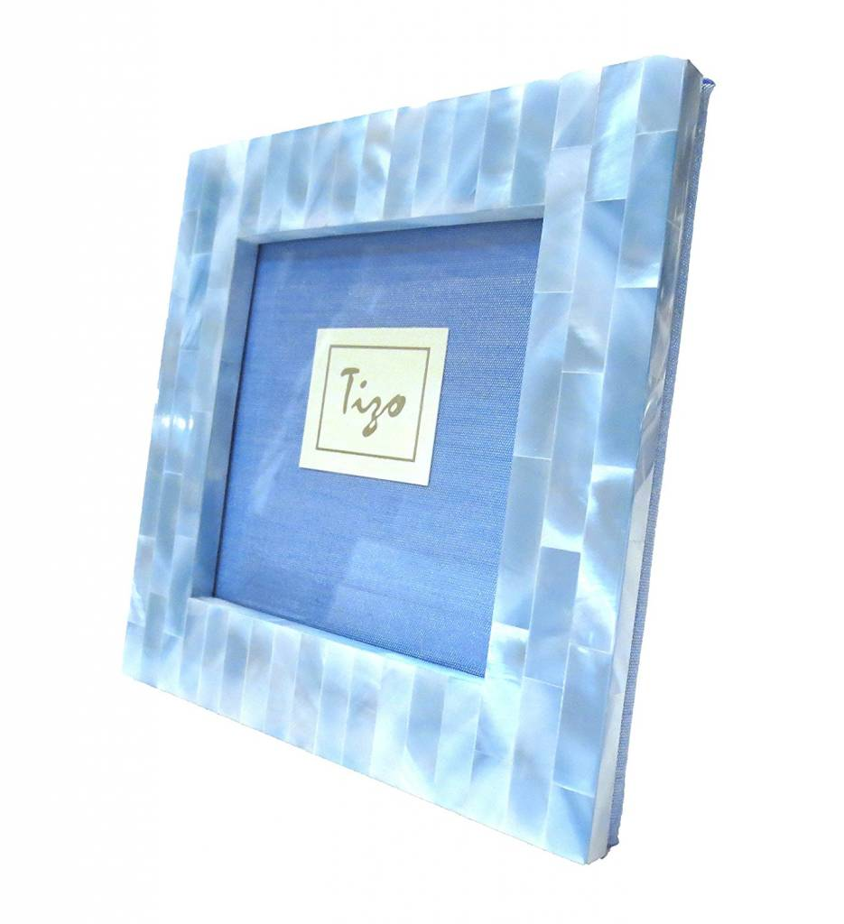 Tizo Blue Mother of Pearl Frame 3x3