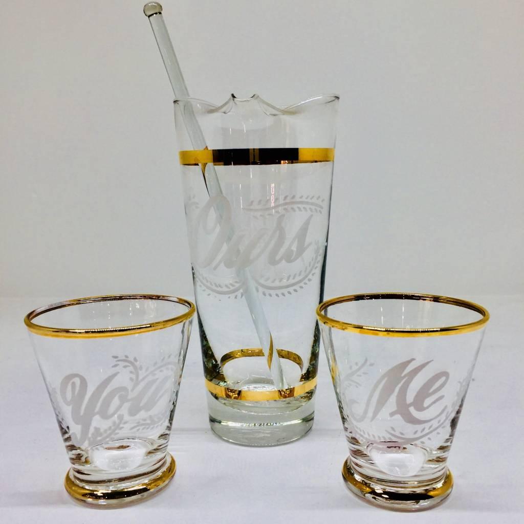 Mid Century Cocktail Set