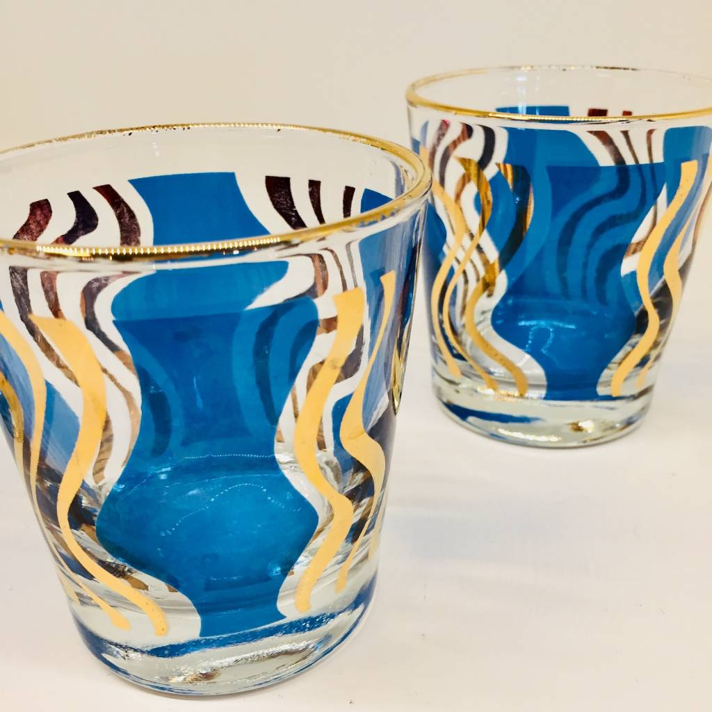 Mid Century Whisky Glasses