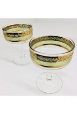 Mid Century Champagne Coopes