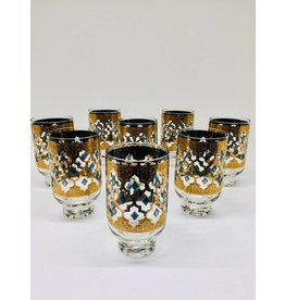 Mid Century Valencia Pedestal Highball Glasses