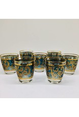 Culver Toledo Whisky Glasses
