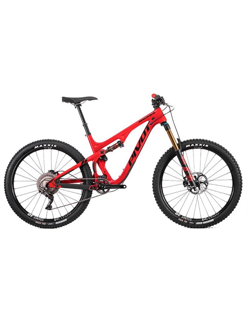 Pivot Cycles Pivot Mach 5.5 Carbon MD Red Pro XT/XTR 1x 27.5