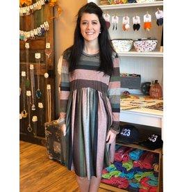 True Stripes Dress Plus