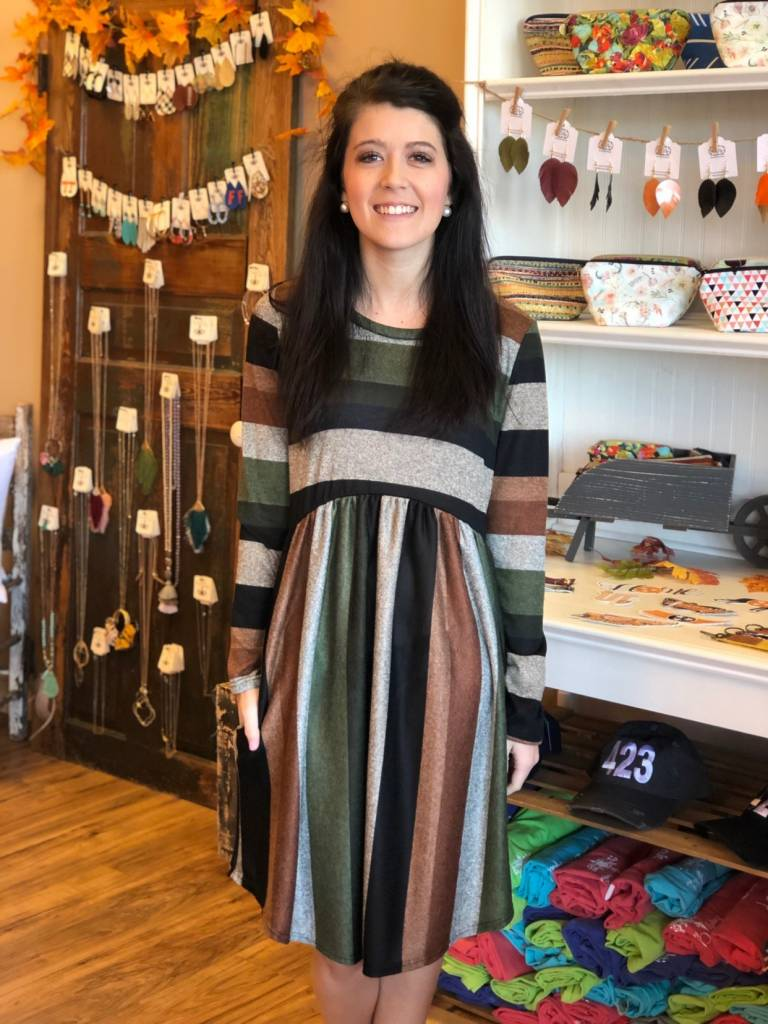 True Stripes Dress