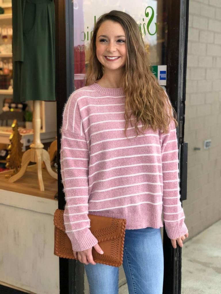 Pretty In Pink Sweater