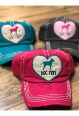 Dog Mom Heart Cap