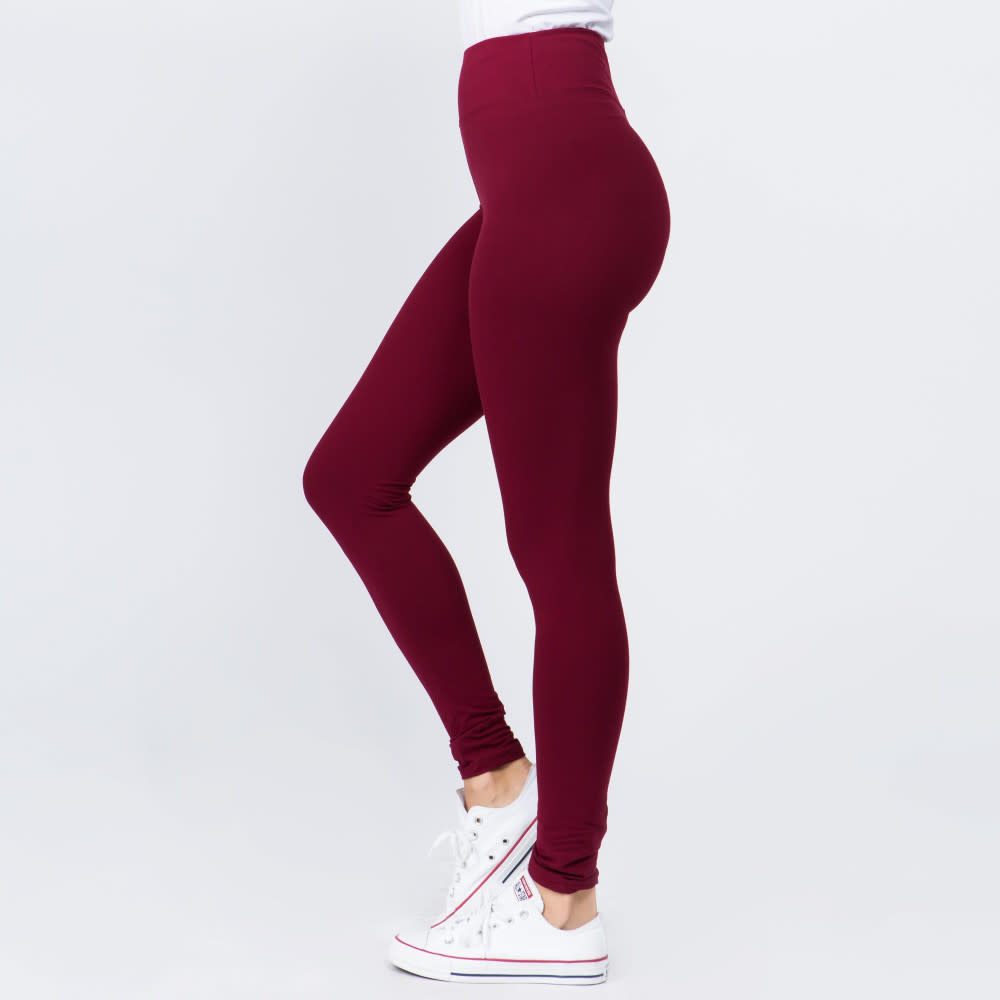 Peach Skin Ankle Leggings