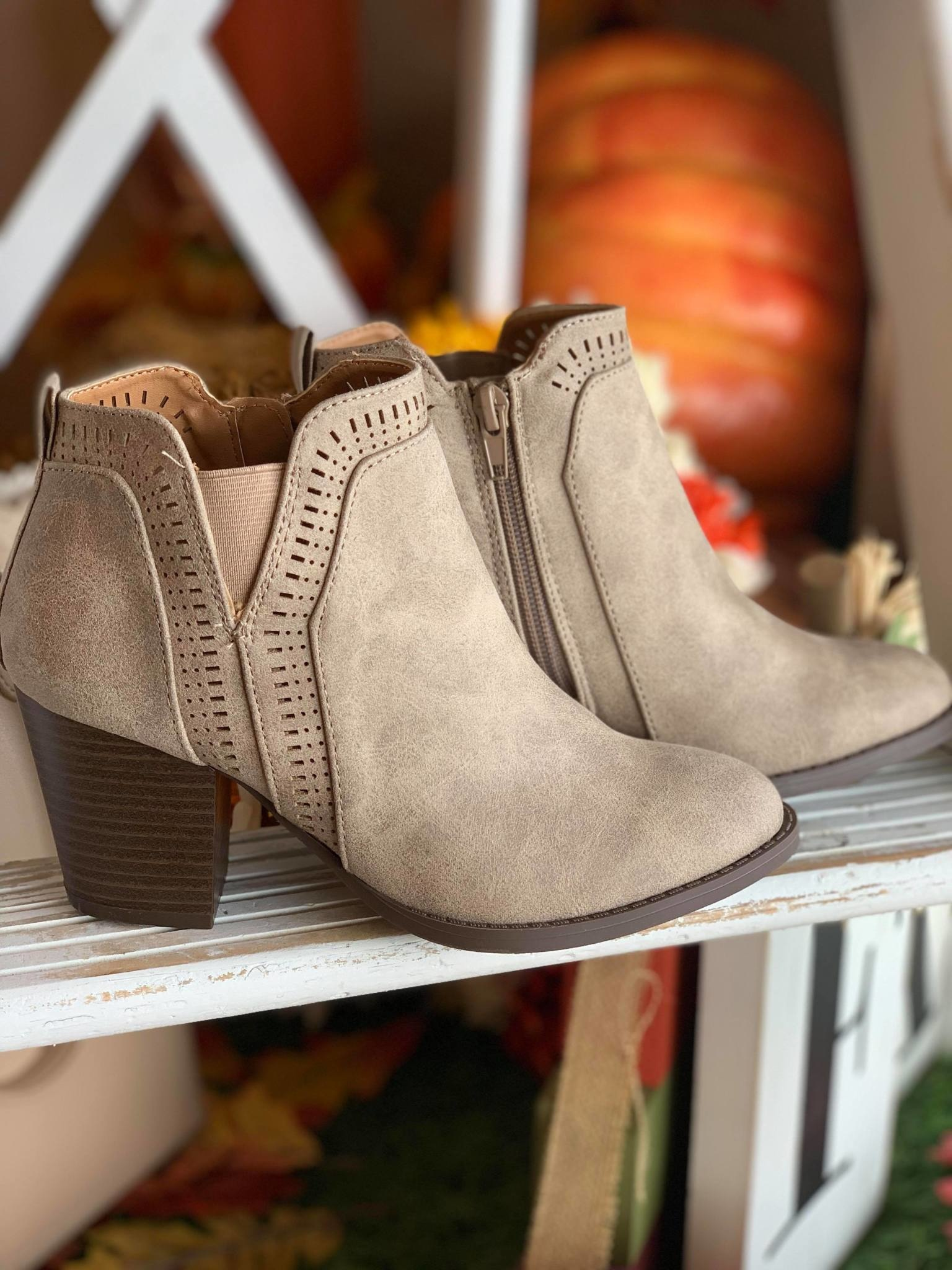 All the Way Booties
