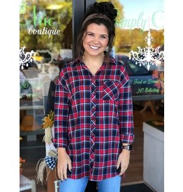 Fall Day Long Flannel