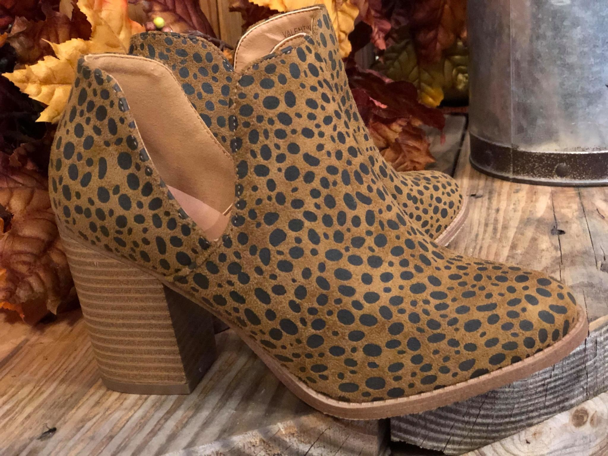 The Cheetah Bootie