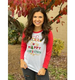 Christmas Vacation Raglan