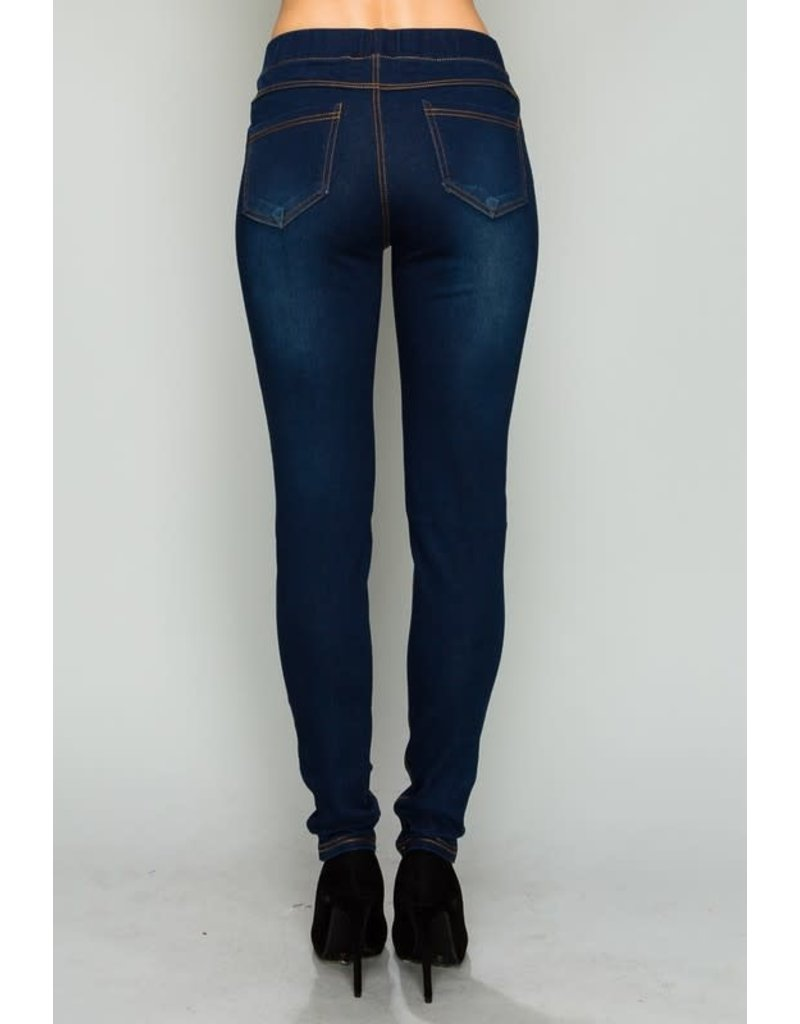 Mild Distressed Jeggings