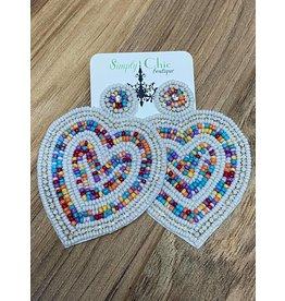 Love is Here Earrings