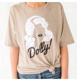 Dolly Shimmer Tee