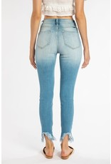KanCan Distressed Frayed Jeans